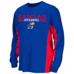 Colosseum Athletics Kids' University of Kansas Poly Long Sleeve T-shirt