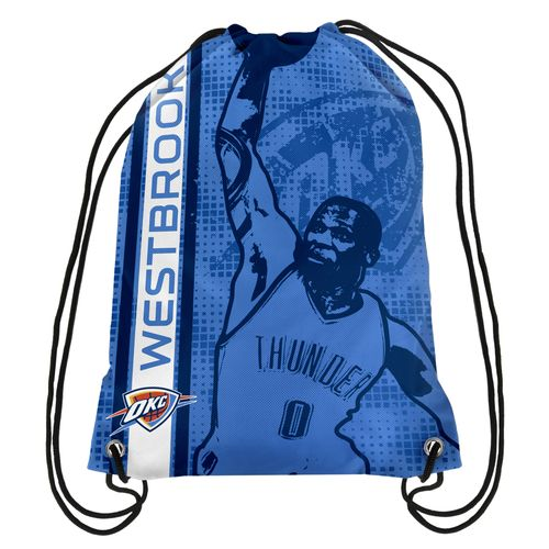 Forever Collectibles™ Oklahoma City Thunder Russell Westbrook #0 Elite Drawstring Backpack