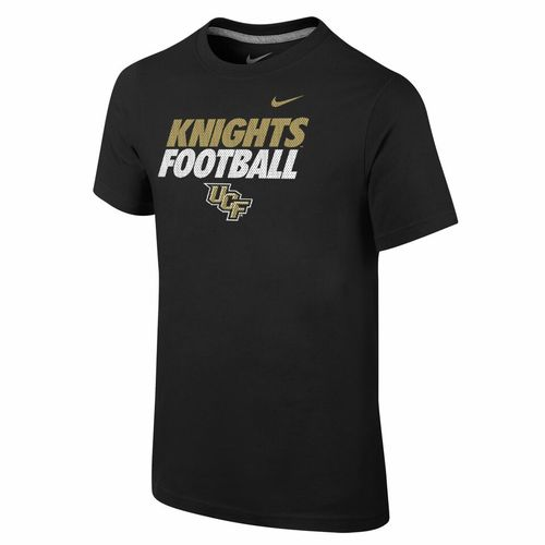Nike™ Boys' University of Central Florida Locker Room Cotton Practice T-shirt