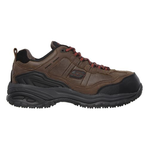 SKECHERS Men\u0027s Relaxed Fit Soft Stride Constructor II Work Boots