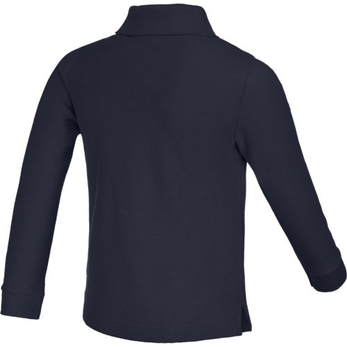 Austin Trading Co. Boys' Uniform Long Sleeve Pique Polo Shirt - view number 2