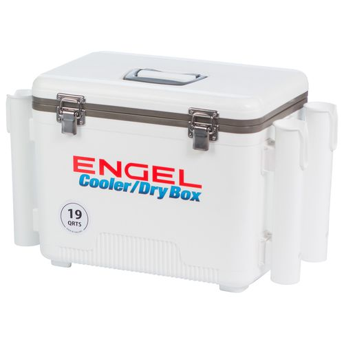 Engel 19 qt. Cooler/Dry Box with Rod Holders - view number 8