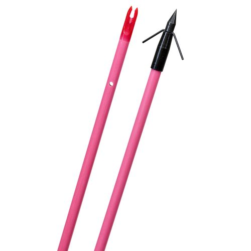 Fin-Finder Raiderette Fiberglass Arrow with Typhoon Point