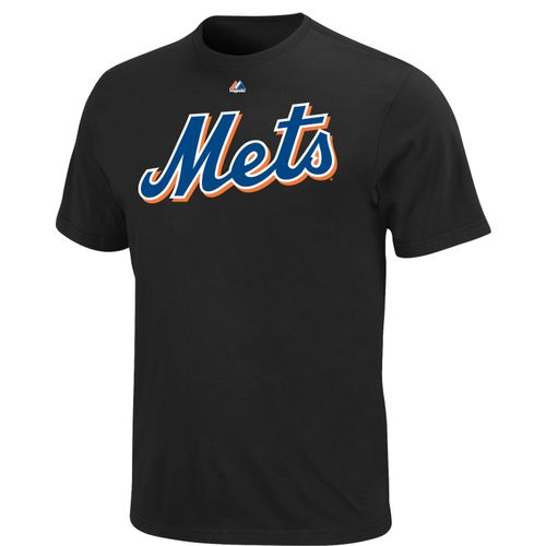Majestic Men's New York Mets Official Wordmark T-shirt