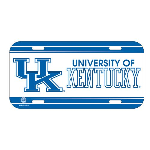 Image for wincraft university of kentucky license plate for How much is a fishing license in kentucky