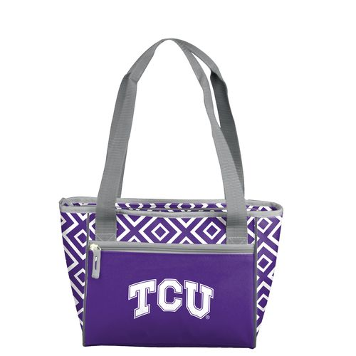Logo™ Texas Christian University Double Diamond 16-Can