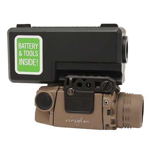 Viridian X Series® X5L-FDE Green Laser Sight with Taclight