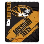 The Northwest Company University of Missouri Painted Fleece Throw - view number 1