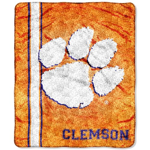 The Northwest Company Clemson University Jersey Sherpa Throw