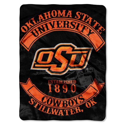 The Northwest Company Oklahoma State University Rebel Raschel Throw