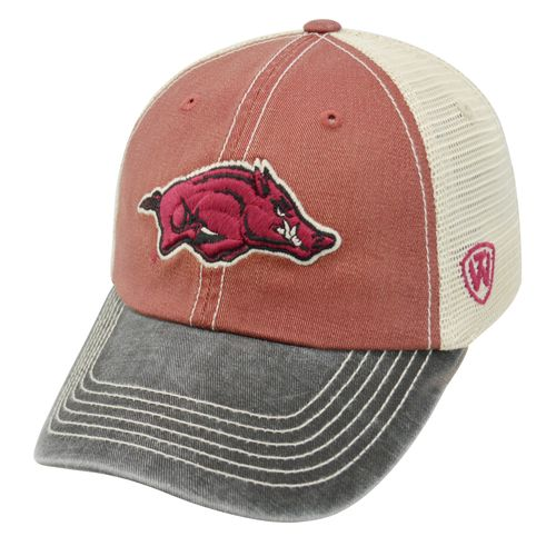 Top of the World Adults' University of Arkansas Offroad Cap - view number 1