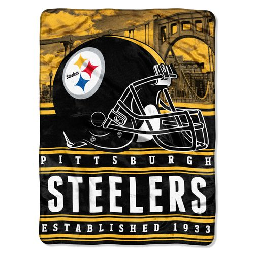 The Northwest Company Pittsburgh Steelers Stacked Silk Touch