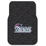 The Northwest Company New England Patriots Front Car Floor Mats 2-Pack - view number 1