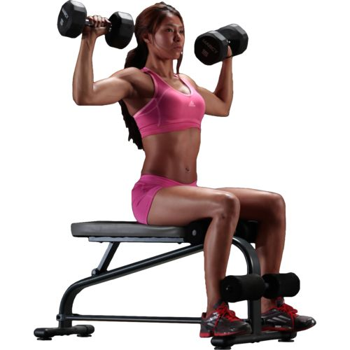 Marcy Specialty Weight Bench with 40 lb. Vinyl Dumbbell Set - view number 2