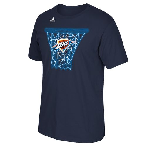 adidas™ Men's Oklahoma City Thunder Tip Off Net Web Short Sleeve T-shirt