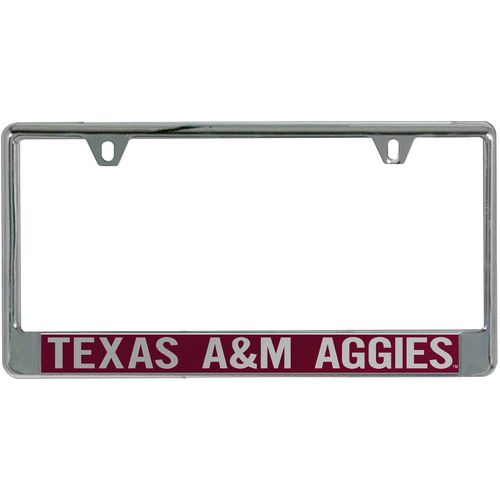 Stockdale Texas A&M University Mirror License Plate Frame - view number 1