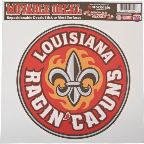 Stockdale University of Louisiana at Lafayette Single Logo Decal