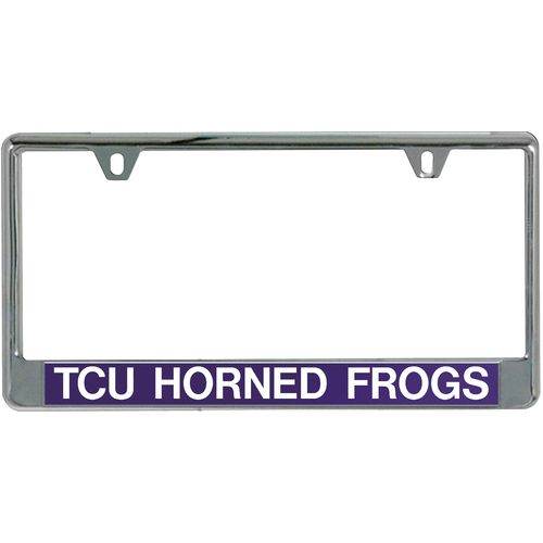 Stockdale Texas Christian University Mirror License Plate Frame - view number 1