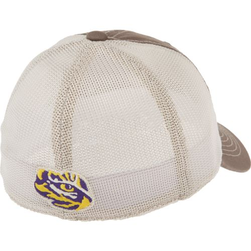 Top of the World Adults' Louisiana State University Putty Cap - view number 2