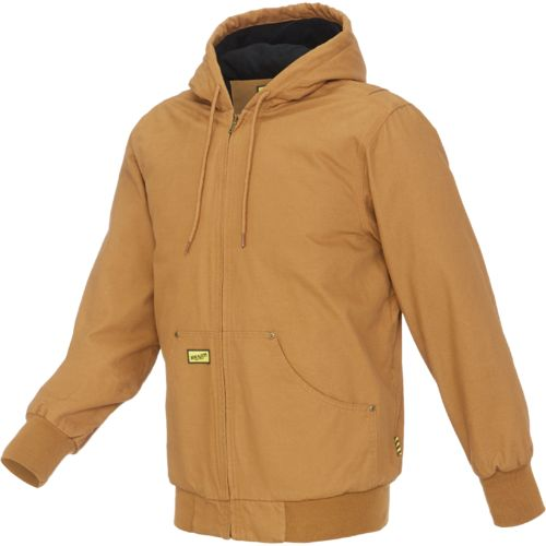 Display product reviews for Brazos Men's Hooded Engineer Jacket