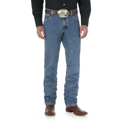 Display product reviews for Wrangler Men's Premium Performance Cool Vantage Cowboy Cut Regular Fit Jean