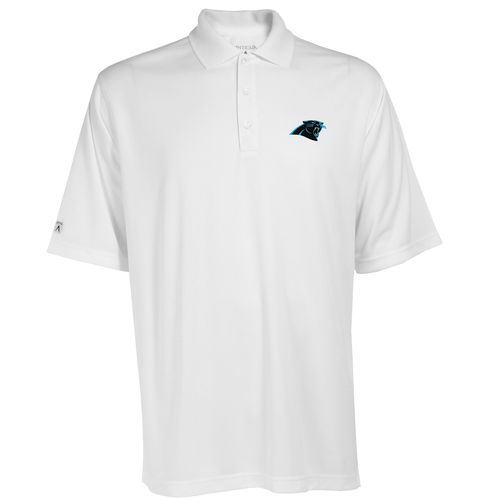 Antigua Men's Carolina Panthers Exceed Polo Shirt