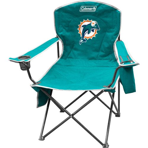 Coleman® Miami Dolphins Cooler Quad Chair
