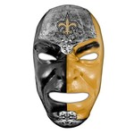 Franklin Adults' New Orleans Saints Fan Face Mask - view number 1
