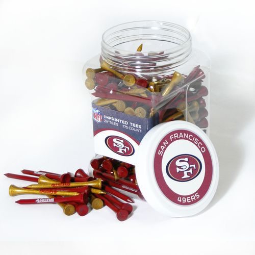 Team Golf San Francisco 49ers Tees 175-Pack