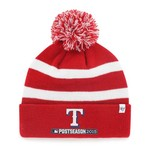 '47 Texas Rangers MLB Playoffs Breakaway Cuff Knit Cap