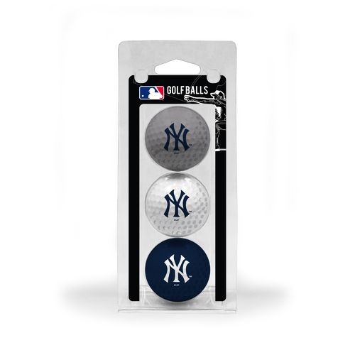 Team Golf New York Yankees Golf Balls 3-Pack