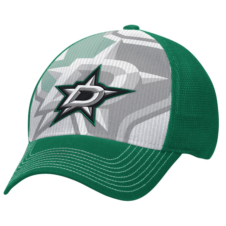 Reebok Men's Dallas Stars Face-Off Structured Flex Cap