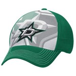 Reebok Men's Dallas Stars Face-Off Structured Flex Cap