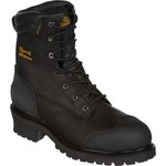 Chippewa Boots Oiled Waterproof Insulated Composition-Toe Logger Rugged Outdoor Boots - view number 2