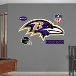 Fathead Baltimore Ravens Real Big Team Logo Decal