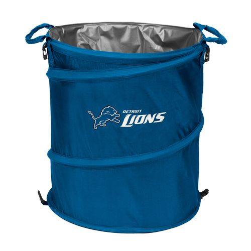 Logo™ Detroit Lions Collapsible 3-in-1 Cooler/Hamper/Wastebasket