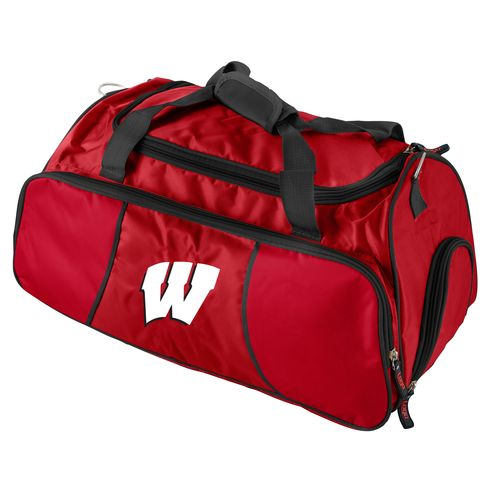 Logo™ University of Wisconsin Athletic Duffel Bag