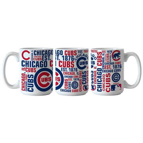 Boelter Brands Chicago Cubs Spirit 15 oz. Coffee Mugs 2-Pack