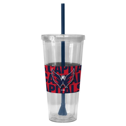Boelter Brands Washington Capitals 22 oz. Straw Tumblers 2-Pack