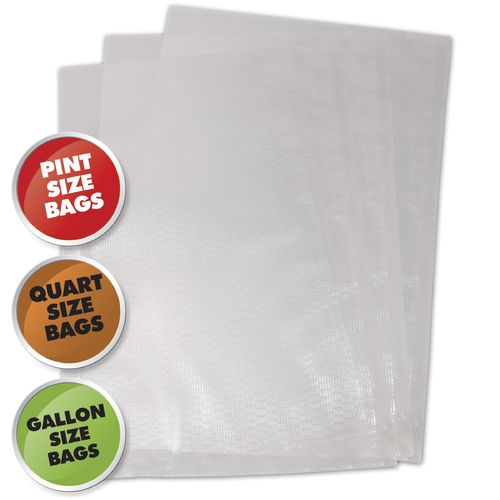Weston Commercial Grade Vacuum Bags Variety Pack