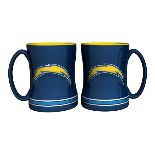 Boelter Brands San Diego Chargers 14 oz. Relief Mugs 2-Pack