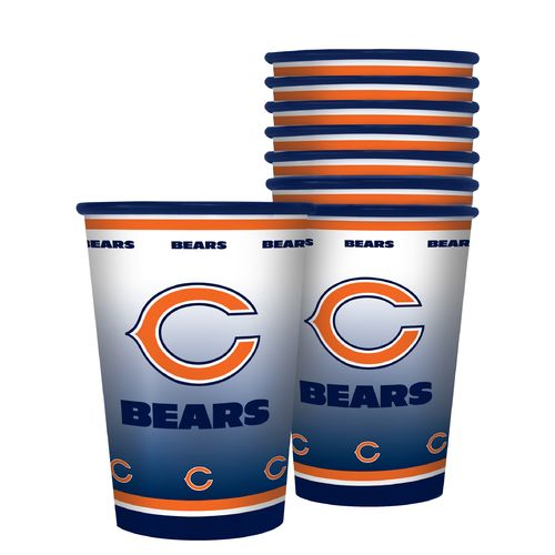 Boelter Brands Chicago Bears 20 oz. Souvenir Cups 8-Pack - view number 1
