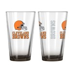 Boelter Brands Cleveland Browns Elite 16 oz. Pint Glasses 2-Pack