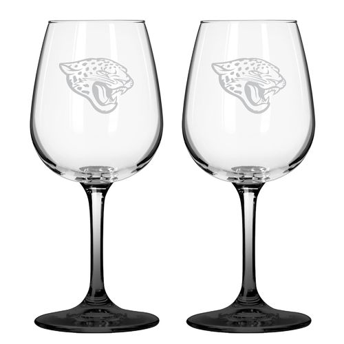 Boelter Brands Jacksonville Jaguars 12 oz. Wine Glasses 2-Pack