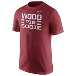 Nike Men's University of Arkansas Local Verbiage Short Sleeve T-shirt