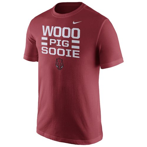 Nike™ Men's University of Arkansas Local Verbiage Short Sleeve T-shirt