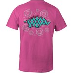 Image One Women's University of Arkansas Fireworks Comfort Color T-shirt