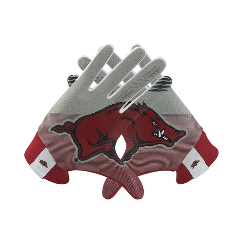 Nike Adults' University of Arkansas Stadium Football Gloves