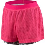 BCG™ Juniors' Double Layer Exposed Elastic Shortie Short
