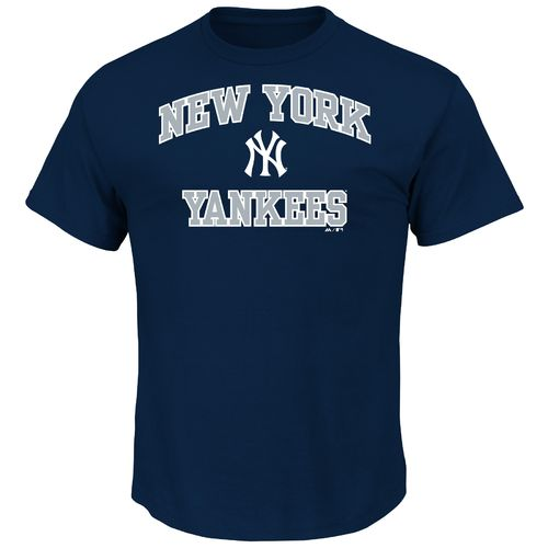 Majestic Men's New York Yankees Heart and Soul T-shirt